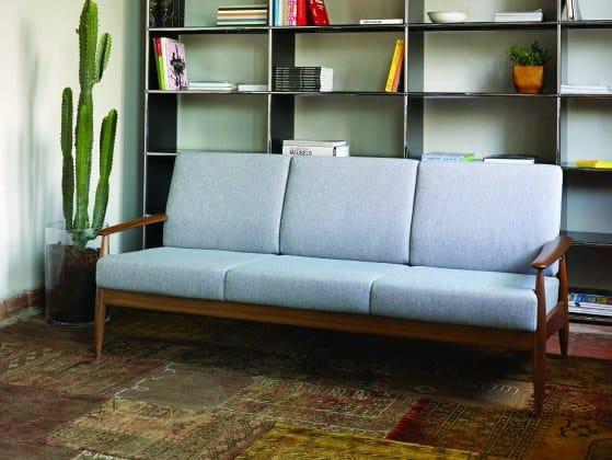 3 seater fabric sofa BUZZINORDIC ST100 | 3 seater sofa by BuzziSpace