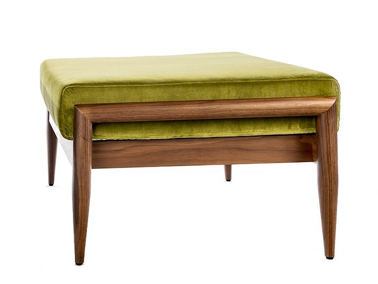 Rectangular fabric garden footstool BUZZINORDIC ST900 | Garden footstool by BuzziSpace