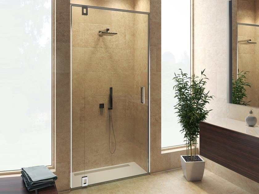 Aluminium Shower door kit BX-2100 BILICO by Metalglas Bonomi