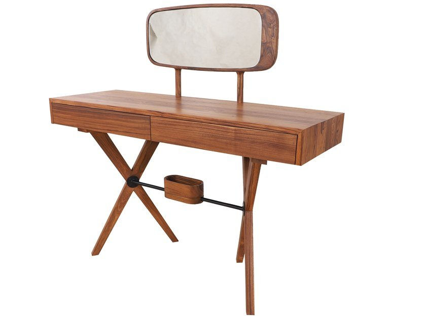 Teak dressing table BYRA by ALANKARAM