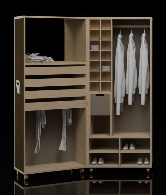 Wardrobe BYRON by Paolo Castelli