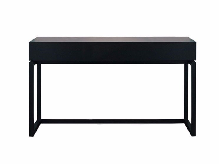 Rectangular wooden writing desk BYRON | Writing desk by SOFTHOUSE