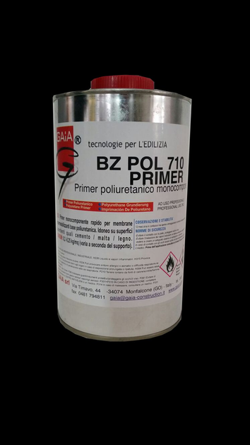 Additive and resin for waterproofing BZ POL 710 Primer by GAIA
