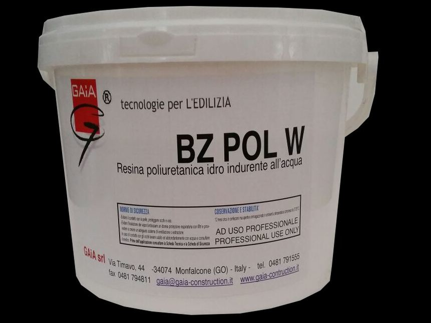 Additive and resin for waterproofing BZ POL W by GAIA