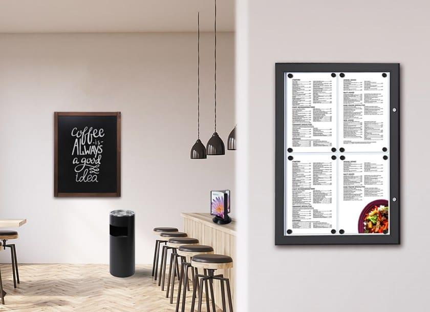 Bacheca porta menù Bacheca menu da parete