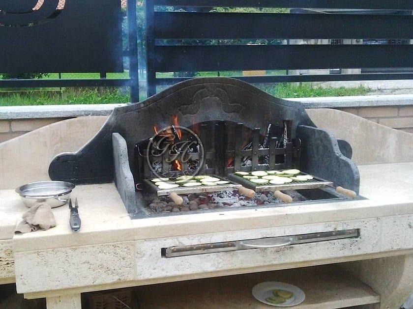 Travertine barbecue Barbecue 6 by GH LAZZERINI