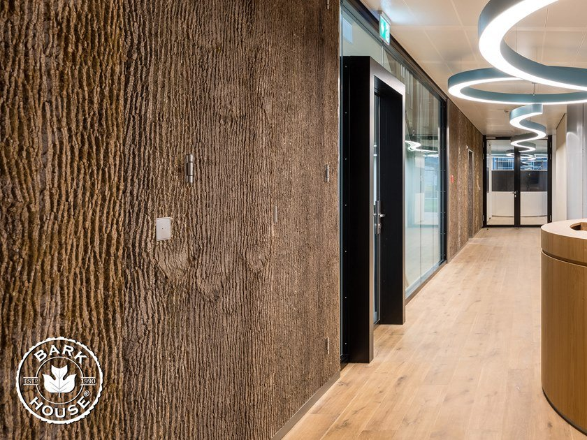 Rivestimento in corteccia di pioppo Bark House® POPLAR BARK WALL PANELS by Freund GmbH