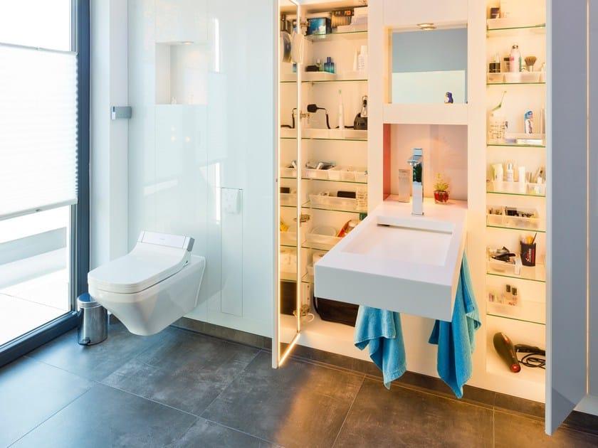 Soluzioni per bagni di piccole dimensioni arredo bagno completo baqua - Bagno piccole dimensioni ...