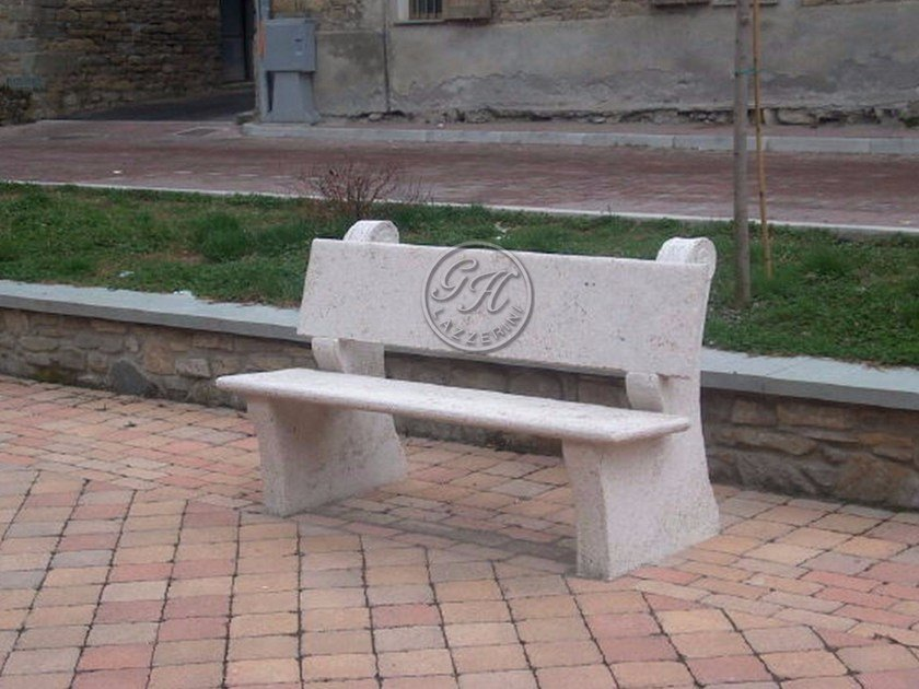 Natural stone Bench Bench 1 by GH LAZZERINI