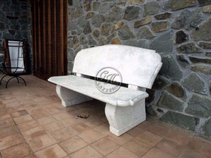 Natural stone Bench Bench 2 by GH LAZZERINI