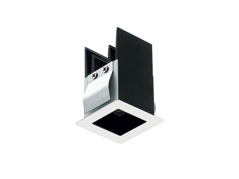 LED recessed square aluminium spotlight Bitpop 1.0 by L&L Luce&Light