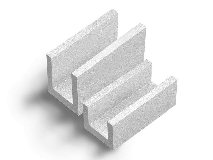 Concrete load-bearing block Blocchi a U By Xella Italia - YTONG