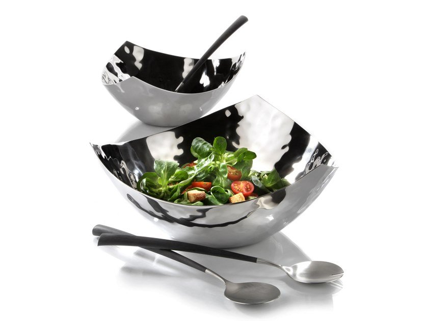 Stainless steel bowl Bowl by Zieher