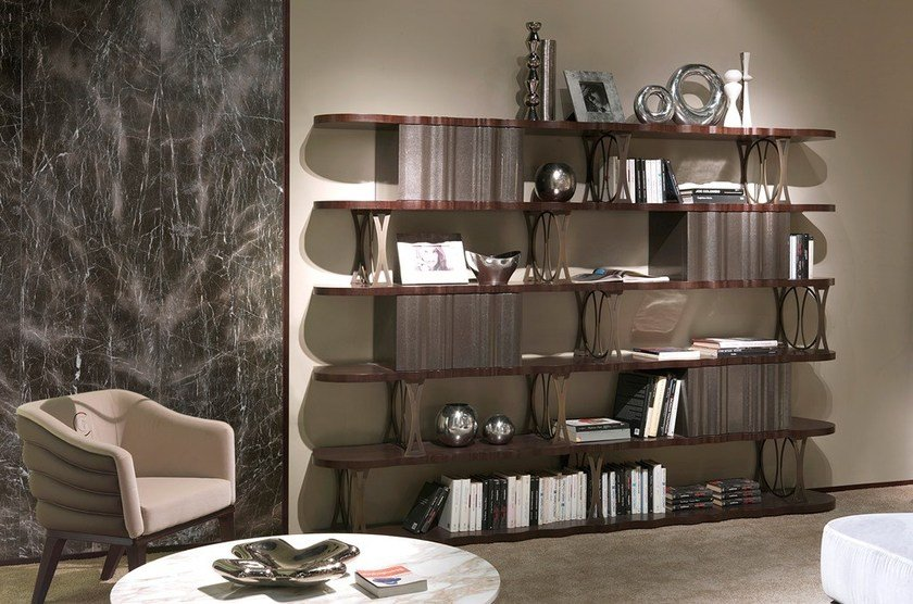Bookcase MISTRAL BOX by Carpanelli Contemporary