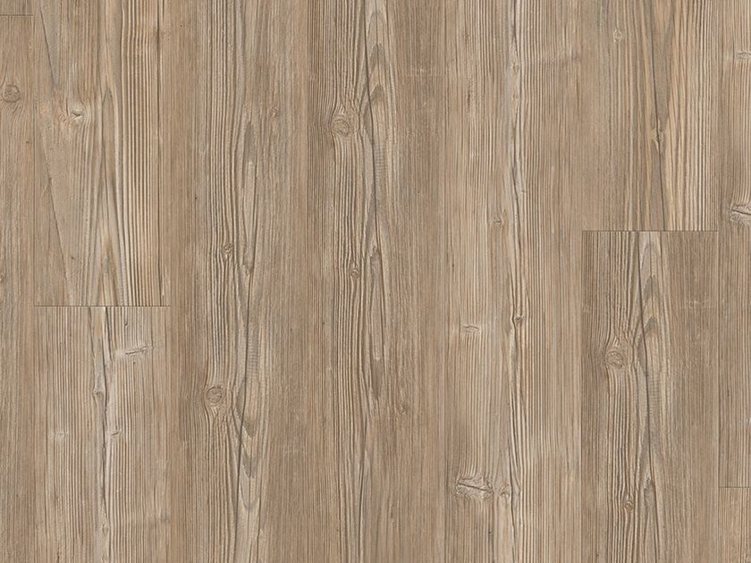 Vinyl flooring with wood effect BROWN CHALET PINE by Pergo