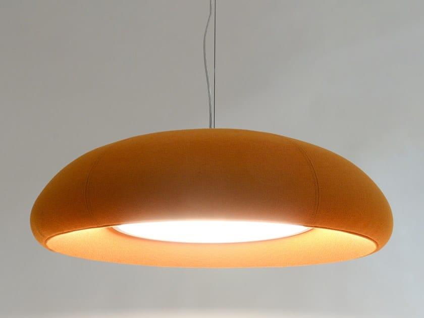 LED fabric pendant lamp BuzziDome by BuzziSpace