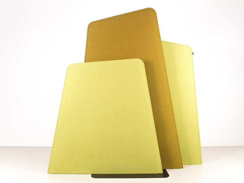 Free standing acoustic panel BuzziFrio by BuzziSpace