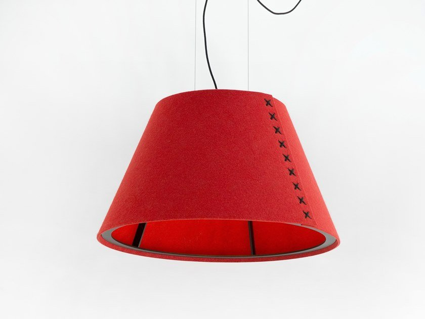 Sound absorbing lighting BuzziShade Pendant by BuzziSpace