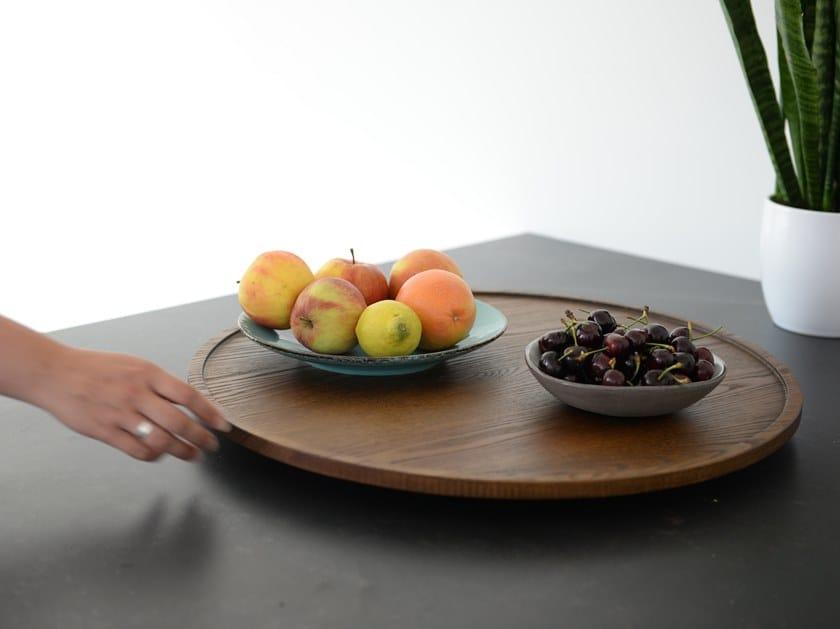 Round wooden tray BuzziSuzzi by BuzziSpace