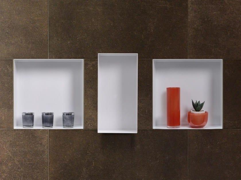 stainless steel wall niche bathroom wall shelf c box. Black Bedroom Furniture Sets. Home Design Ideas