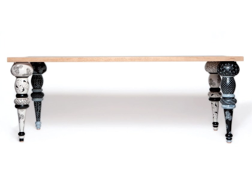 Dining table C'ERA UNA VOLTA by Made a Mano