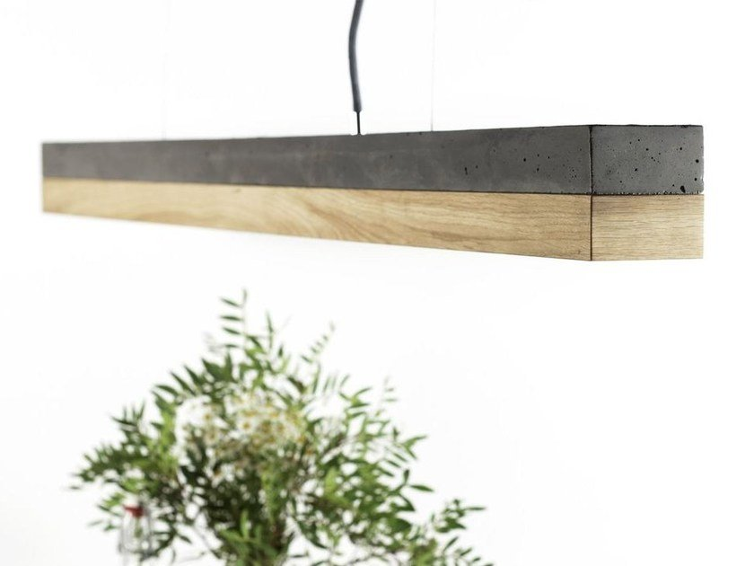 Dimmable LED pendant light [C1] DARK OAK by GANTlights