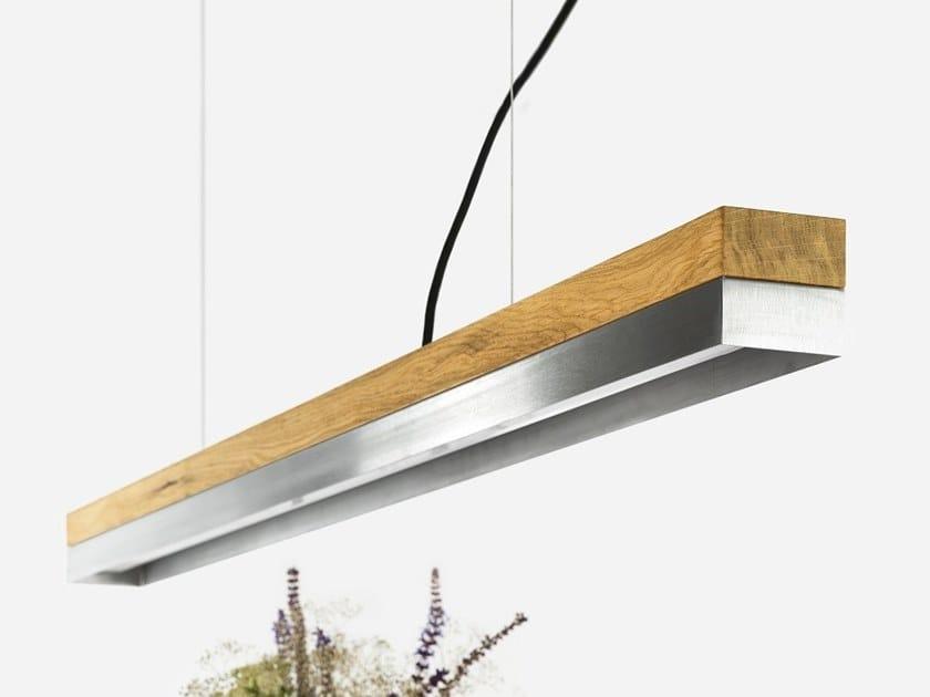 Dimmable LED Pendant Light (L 122cm) [C1o] STAINLESS STEEL by GANTlights