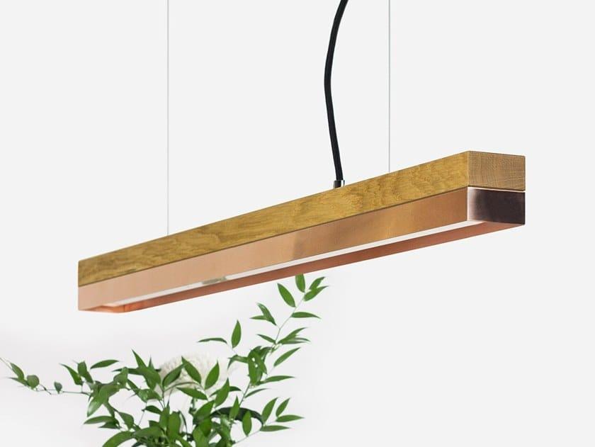 Dimmable LED pendant light (L 92cm) [C2o] COPPER by GANTlights