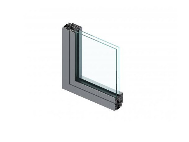 Aluminium window C67K by ALUK Group