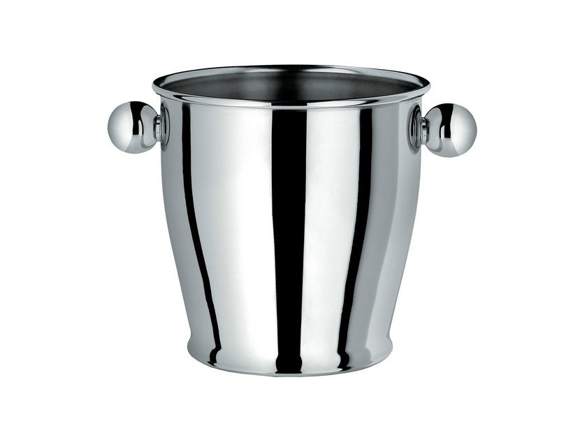 Stainless steel ice bucket CA72 | Ice bucket by Alessi
