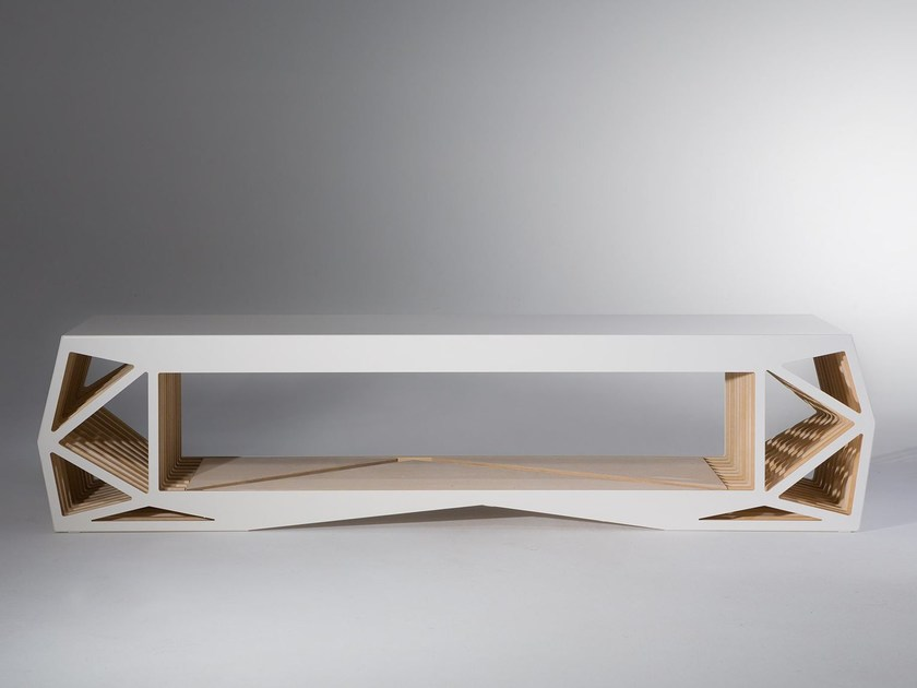 Madia in legno CABINET X by JavyDesign