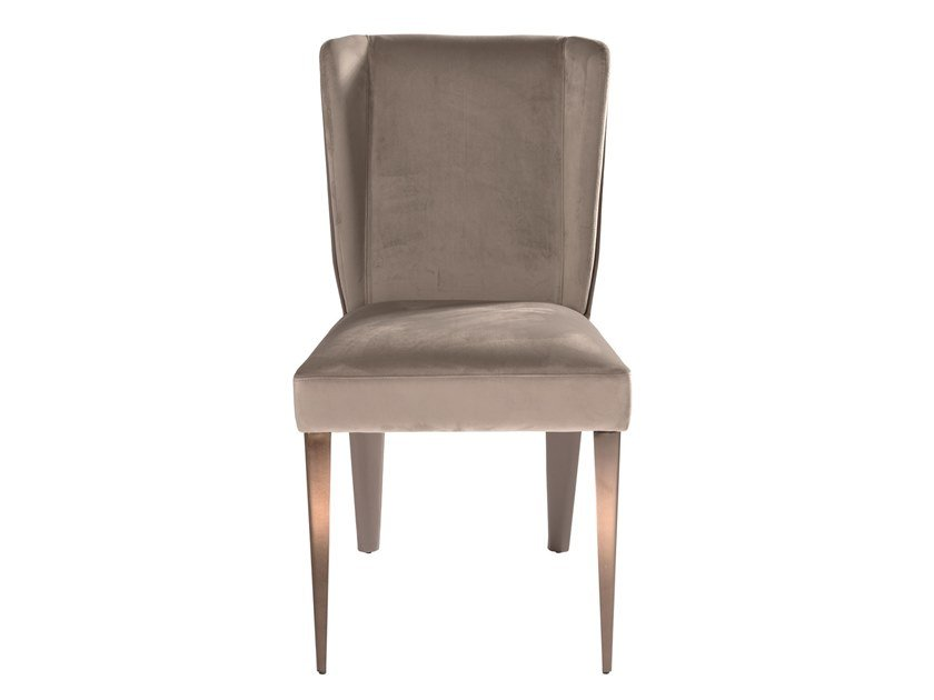 Upholstered fabric chair CABIRIA by Visionnaire