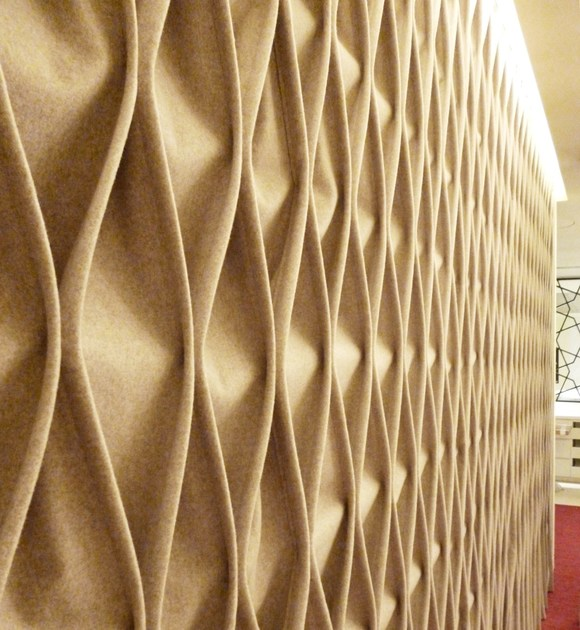 CABLE | Fabric decorative acoustical panel By Anne Kyyrö Quinn