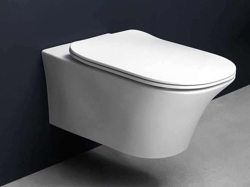 Wc sospeso in ceramica CABO   Wc sospeso by Antonio Lupi Design