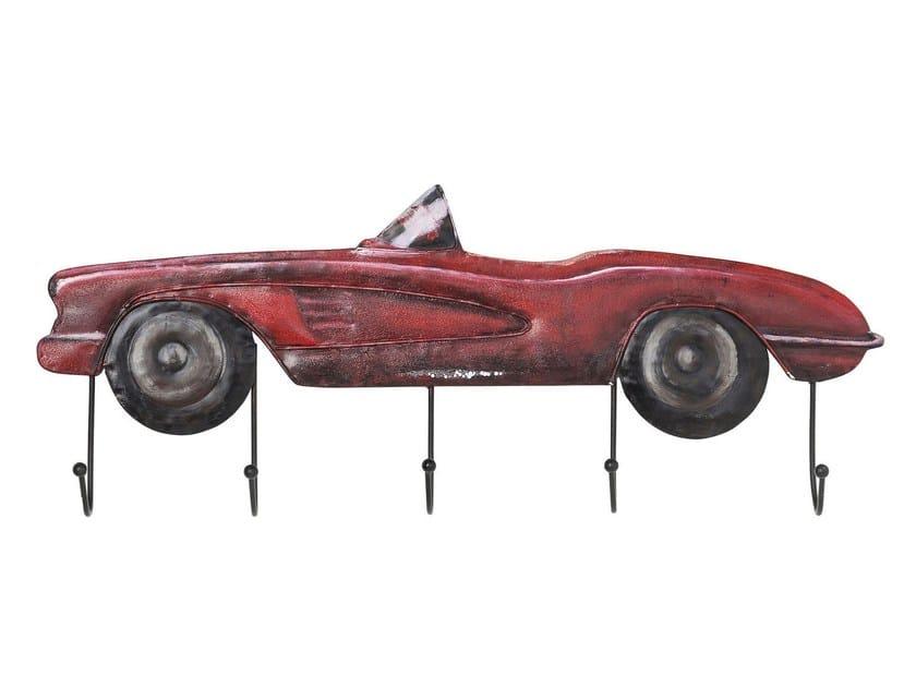 Appendiabiti da parete in acciaio CABRIO RED by KARE-DESIGN