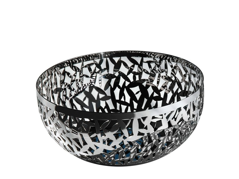 Stainless steel fruit bowl CACTUS! by Alessi