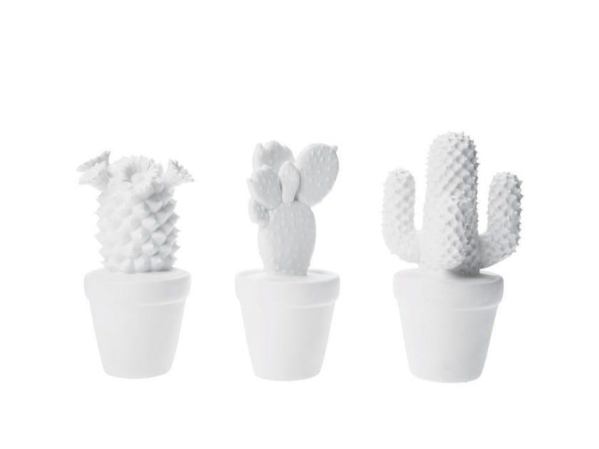 Porcelain decorative object CACTUS by KARE-DESIGN
