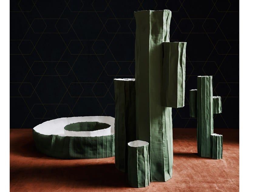 Ceramic vase CACTUS by Paola Paronetto
