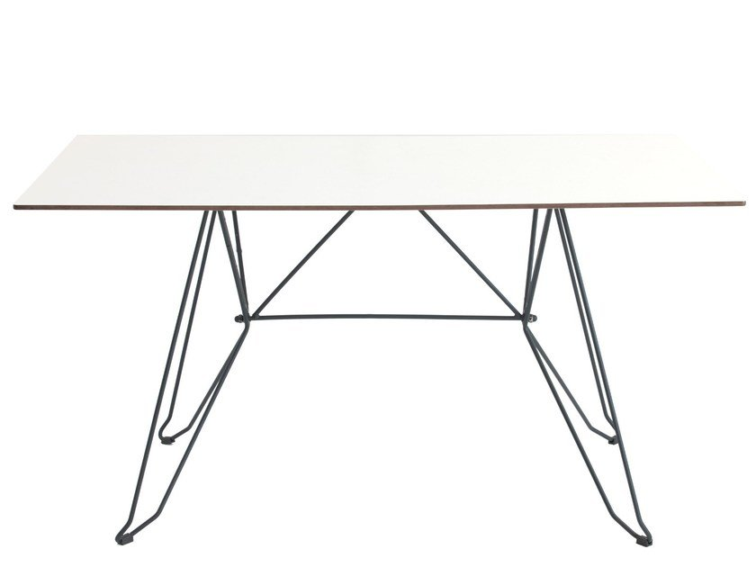 Rectangular table CADAQUES by iSimar