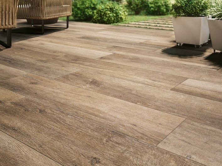 Porcelain stoneware wall/floor tiles with wood effect CADORE - BOSCO by COTTO D'ESTE