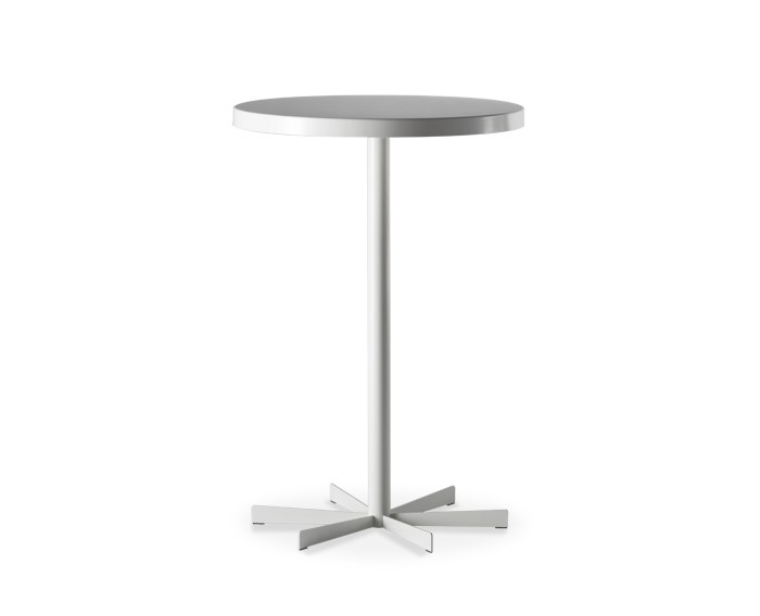 Plate high side table CAFÈ by Casprini