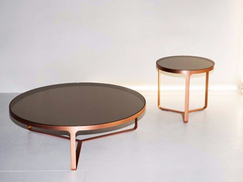 Cage Glass Coffee Table By Tacchini Design Gordon Guillaumier