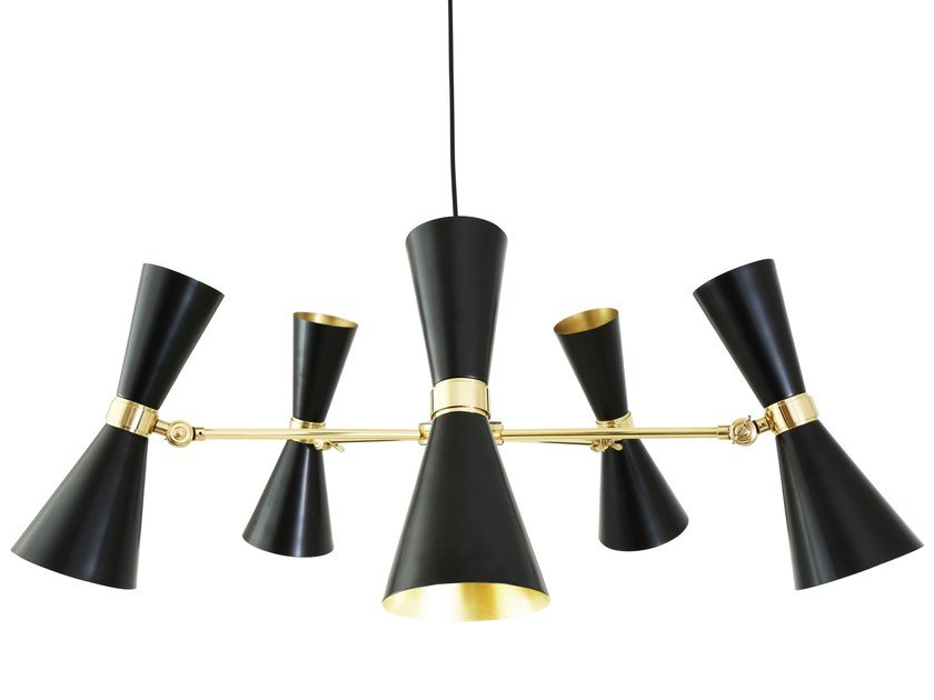 LED chandelier CAIRO 5 Arm by Mullan Lighting