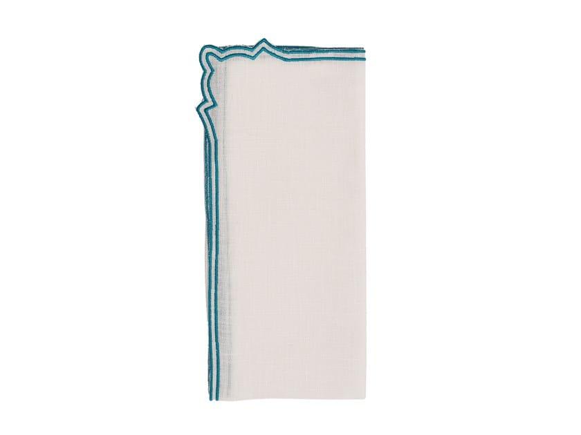 Linen napkin, set of 6 CAKE | Napkin by La Gallina Matta