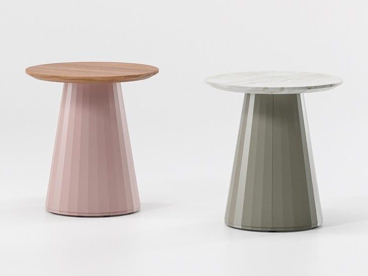 Teak garden side table CALA | Coffee table by Kettal
