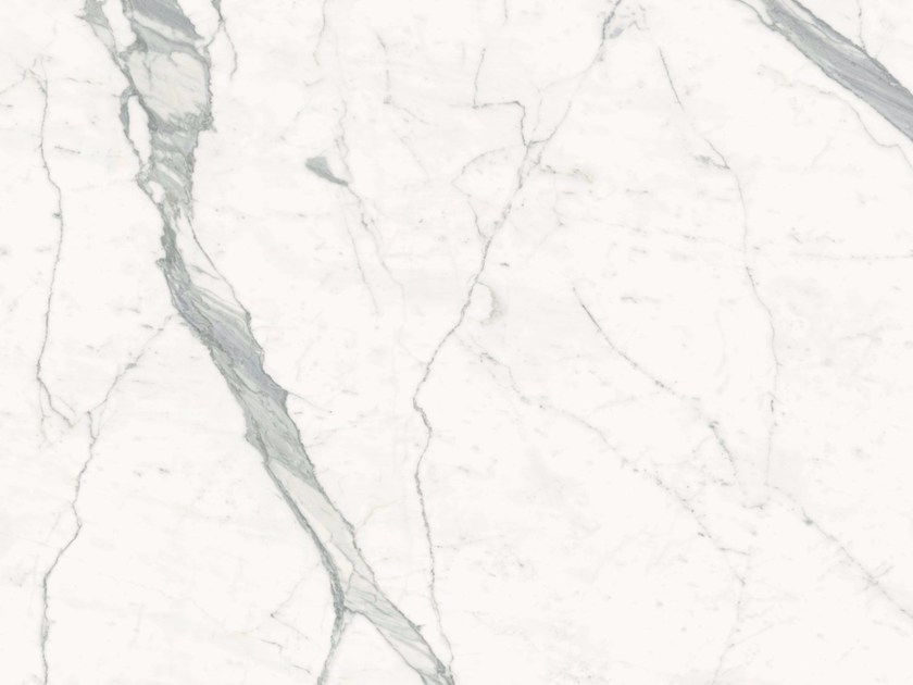 Porcelain stoneware wall/floor tiles with marble effect CALACATTA STATUARIO A/B by GranitiFiandre
