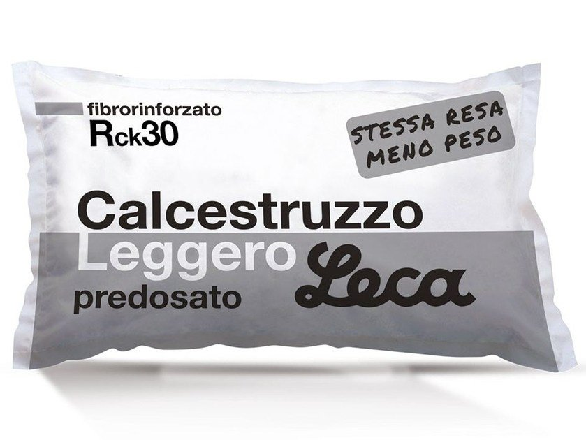 Calcestruzzo strutturale premiscelato CALCESTRUZZO LEGGERO by Laterlite