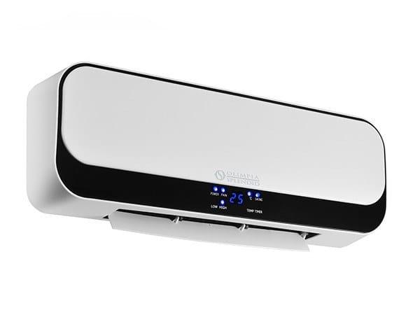 Wall-mounted heater fan CALDO UP T by OLIMPIA SPLENDID