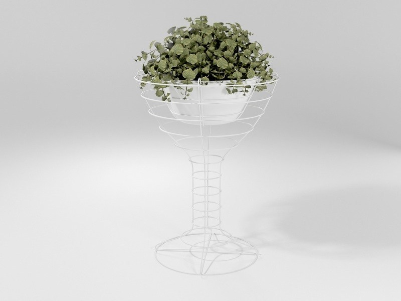 Vaso de ferro CALICE by Barel