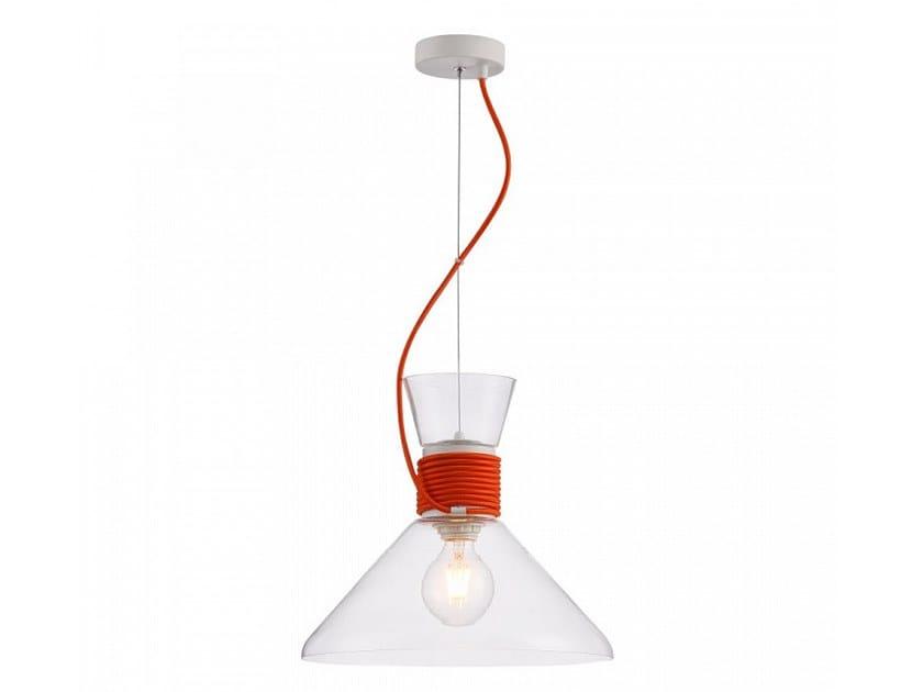 Glass pendant lamp CALIFORNIA by MAYTONI